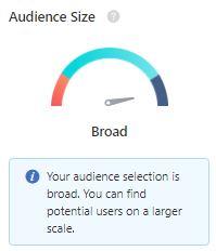 TikTok Audience Size Dial Indicator